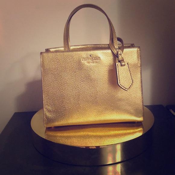 kate spade Handbags - Gold Kate Spade purse
